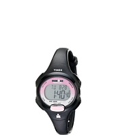 Timex - Sport Ironman Black and Pink Mid Size 10 Lap Watch