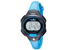 Timex - Sport Ironman Blue and Black Mid Size 10 Lap Watch