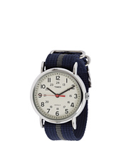 Timex - Weekender Blue and Gray Slip Through Strap Watch