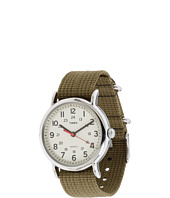 Timex - Weekender Olive Slip Through Strap Watch