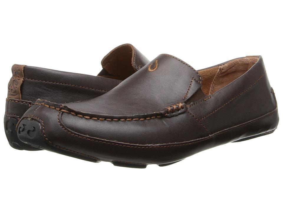 OluKai Akepa Moc (Chocolate) Men's  Shoes