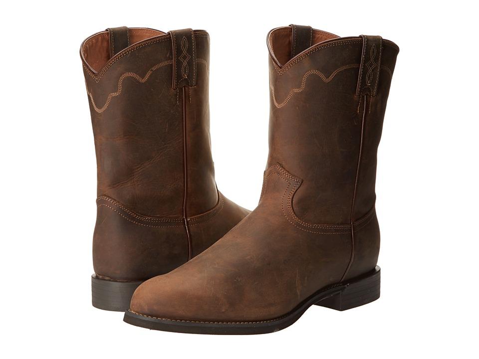 Justin - Jeb (Tan Apache) Cowboy Boots
