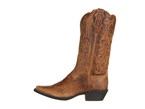 Justin Boots Full-Quill Ostrich Cowboy Boots - J11 Toe, Ropers (For Women