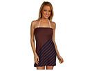 DKNY - Show Me Stripes Mini Dress (Navy/Henna) - Apparel