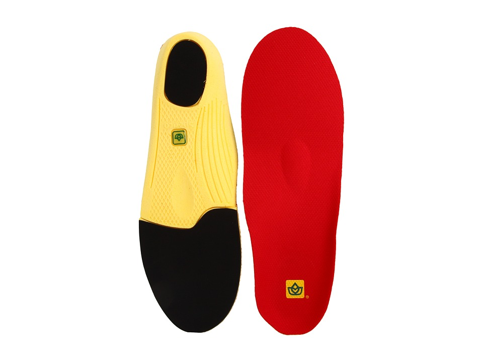 Spenco - PolySorb Walker/Runner Insole (Red) Insoles Accessories Shoes