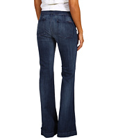 7 For All Mankind - Erin Wide Leg Trouser in Washed Bohemian Blue 2