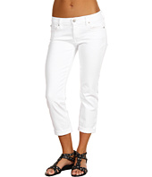 7 For All Mankind - Skinny Crop And Roll in Clean White