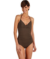 Calvin Klein - Solids Pleat Band One Piece