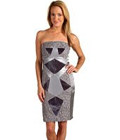Jax - Multi Media Geometric Splice Dress