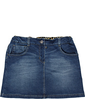 D&G Junior - Denim Plush And Printed Twill Skirt (Toddler/Little Kids/Big Kids)