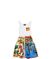 D&G Junior - Silk Foulard and Jersey Dress (Toddler/Little Kids/Big Kids)