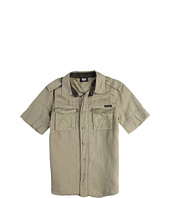 D&G Junior - Short Sleeve Shirt With Stick Label (Toddler/Little Kids/Big Kids)