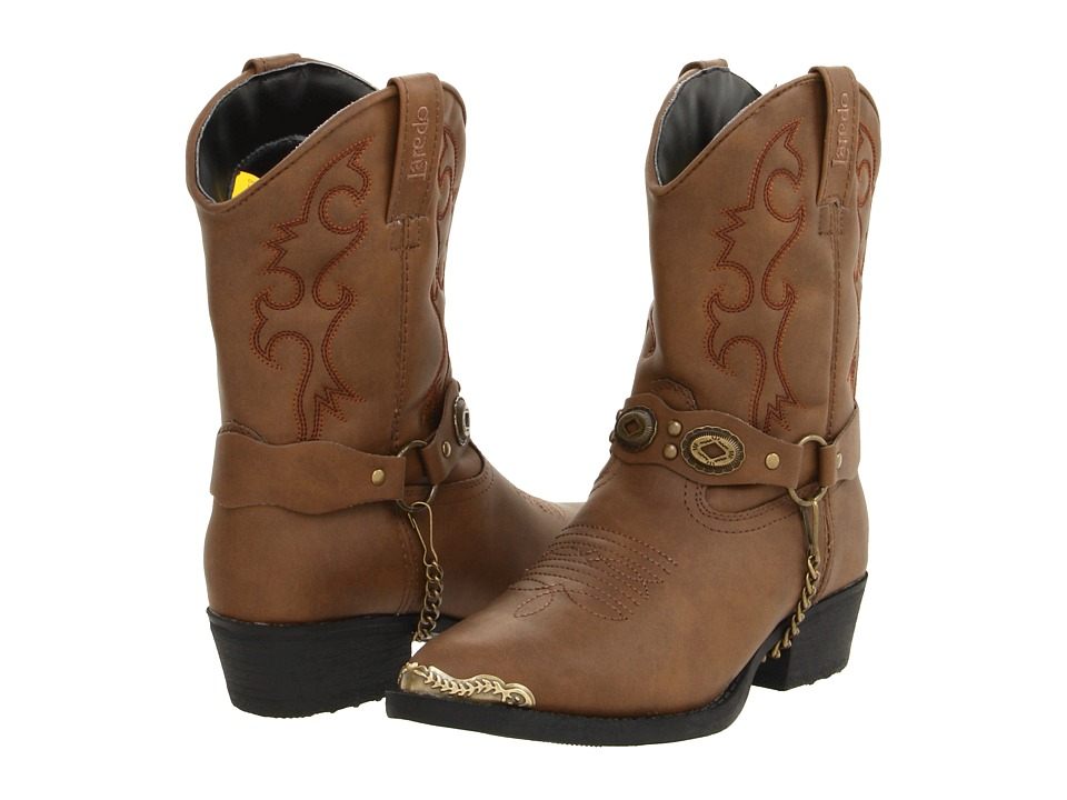 Laredo Kids Little Concho Toddler/Little Kid Brown Cowboy Boots