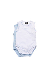 D&G Junior - Two Pack Short Sleeve Body Printed Jersey Stretch (Infant)