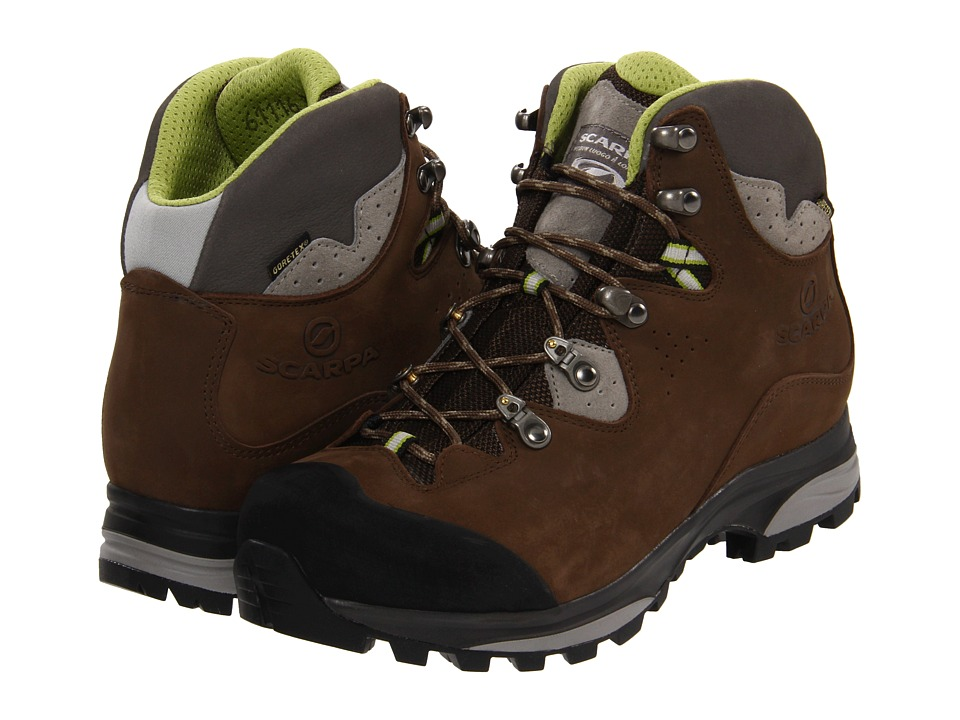 Scarpa Hunza GTX Dark Brown Womens Shoes