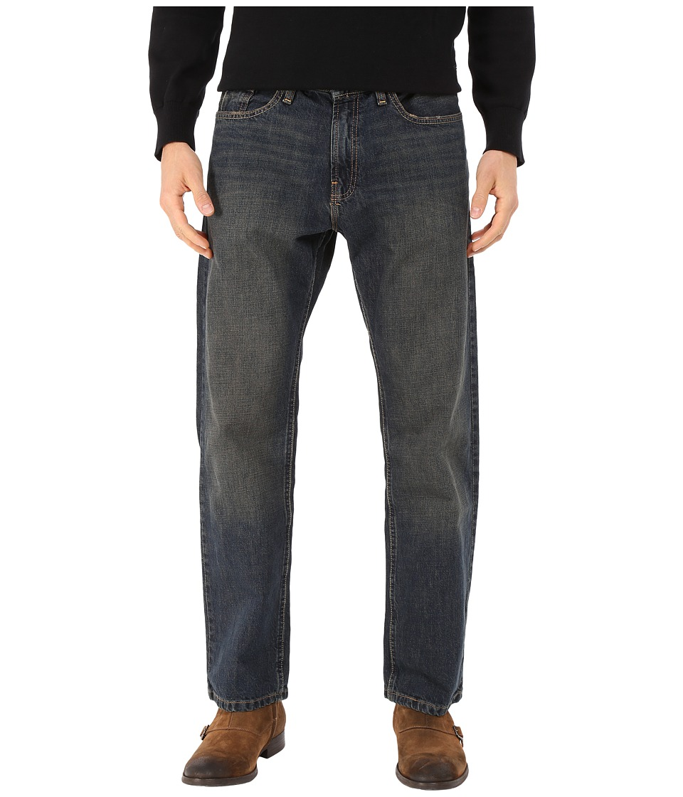 Nautica Medium Wash Crosshatch Jean in Rigger Blue (Rigger Blue) Men