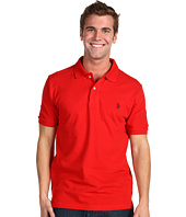 U.S. POLO ASSN. - Solid Interlock Polo with Small Pony