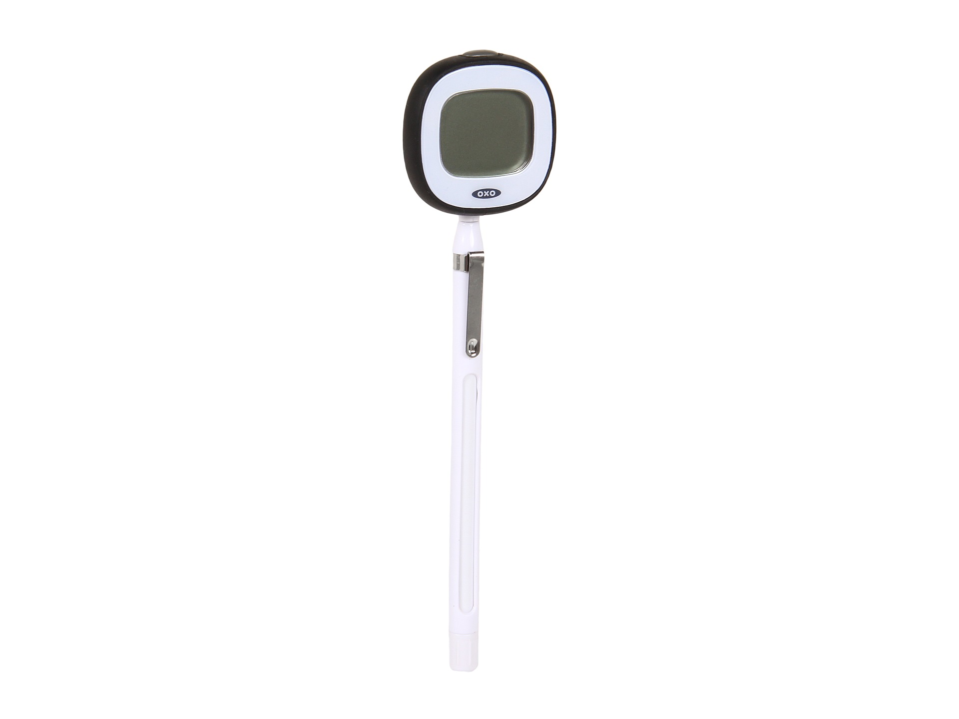 oxo instant read thermometer instructions