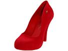 Vivienne Westwood - Anglomania + Melissa Skyscraper II (Red) - Footwear