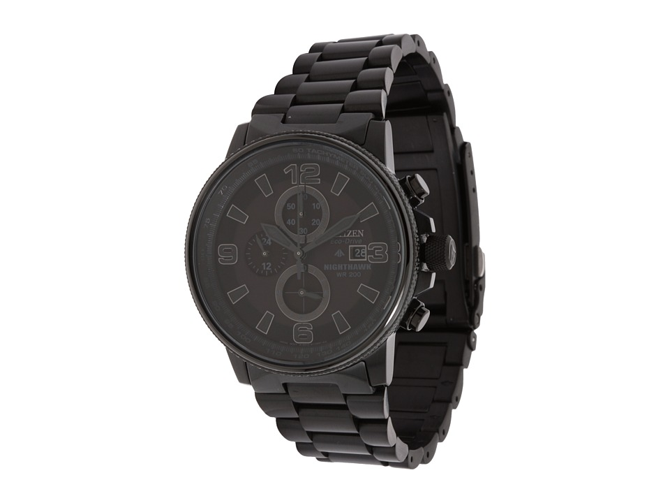 Citizen Watches - CA0295-58E Eco-Drive Nighthawk Watch (Black Ion Plated) Watches