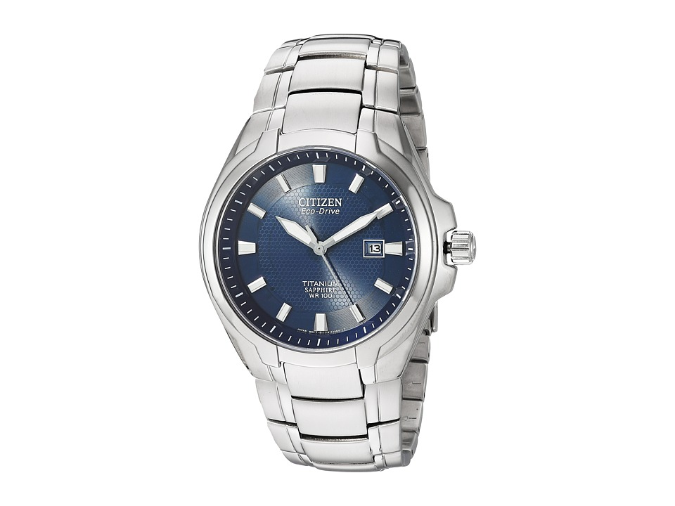 Citizen Watches - BM7170-53L Eco-Drive Titanium Watch (Titanium) Watches