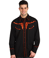 Scully - Longhorn Tooled Men's Shirt