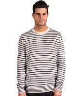 Vince - Long Sleeve Crew Neck Linen Sweater