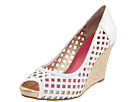 Lilly Pulitzer - Resort Chic Wedge Basketweave (White) - Footwear