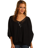 ABS Allen Schwartz - Batwing Blouse with Cro