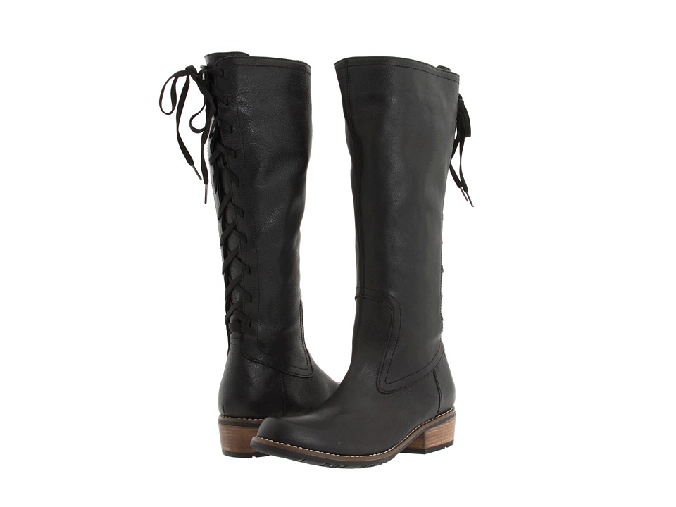 Wolky Pardo Black Leather Womens Boots