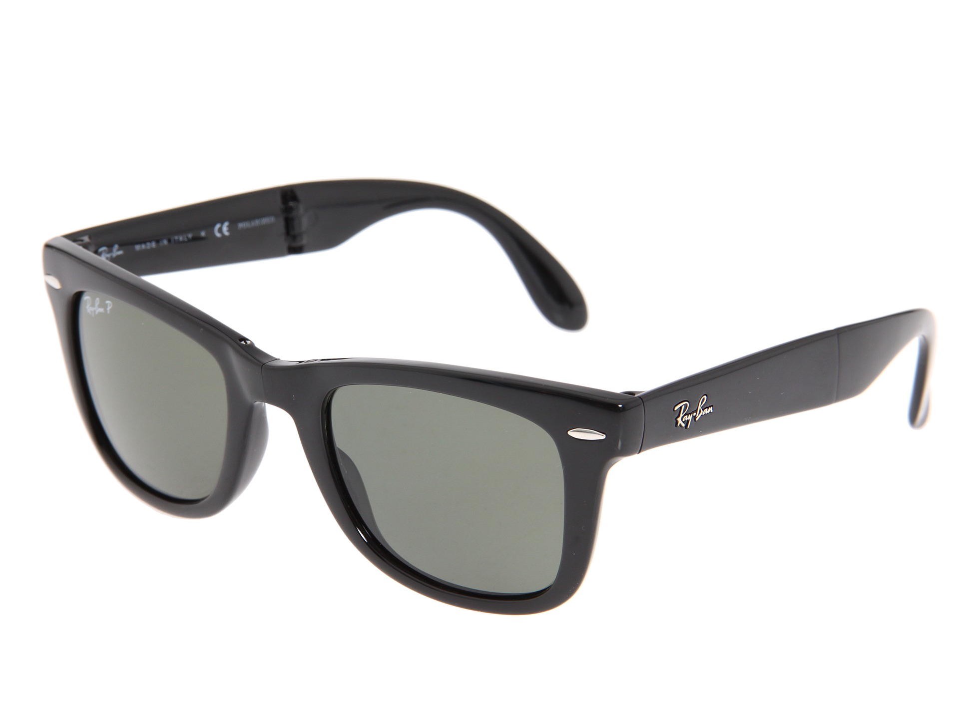 rb4105 qea2  Ray-Ban RB4105 Folding Wayfarer Polarized 50 Medium