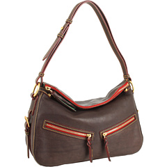 Dooney & Bourke Florentine Zip East/West Sac Brown T-Moro - Zappos.com Free Shipping BOTH Ways from zappos.com
