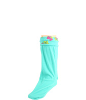 Betsey Johnson - Tin Case Rose Welly Sock