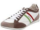 Geox Uomo Andrea 6 (White/Taupe) Men's Shoes