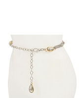 Anne Klein - Anne Klein Multi Chain Belt with Oval Tear Drop