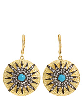 CZ By Kenneth Jay Lane - CZ Turquoise Earrings