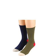 Obey - Serpent & Anchor Sock 2-Pair Pack