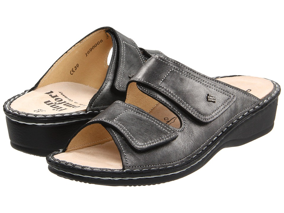 Finn Comfort Jamaica 82519 Volcano Luxory Soft Footbed Womens Slide Shoes