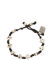 King Baby Studio - Knotted Cord Bracelet With MB Crosses