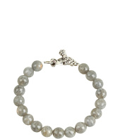 King Baby Studio - 10 mm Labradorite Bracelet With Toggle Clasp