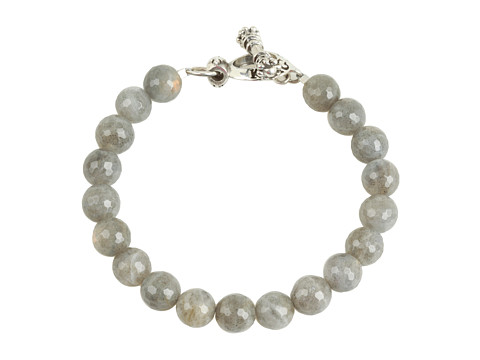 King Baby Studio 10 mm Labradorite Bracelet With Toggle Clasp