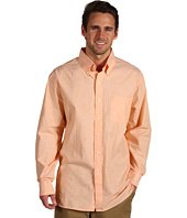IZOD - Solid L/S Buttondown Shirt