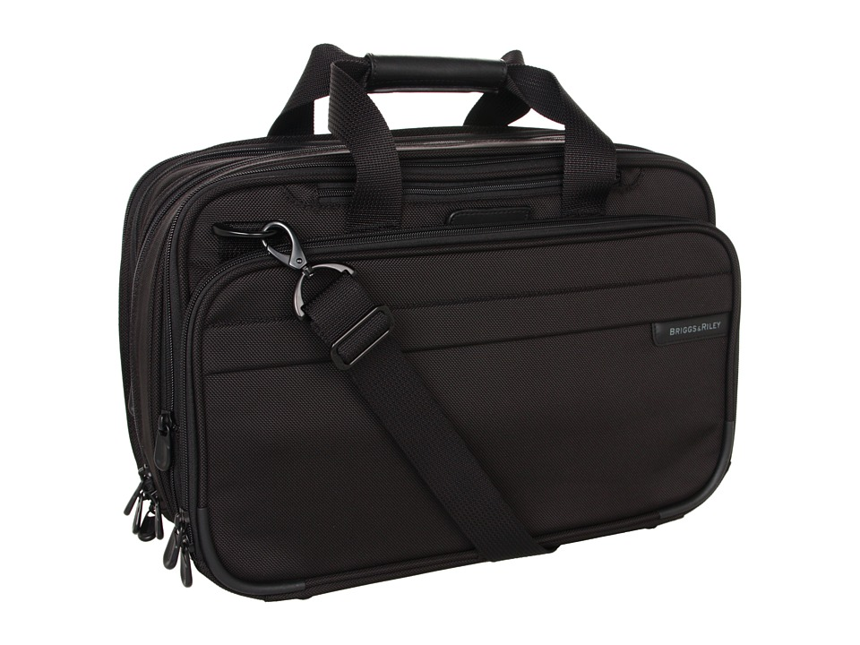 Briggs & Riley Baseline - Expandable Cabin Bag (Black) To...