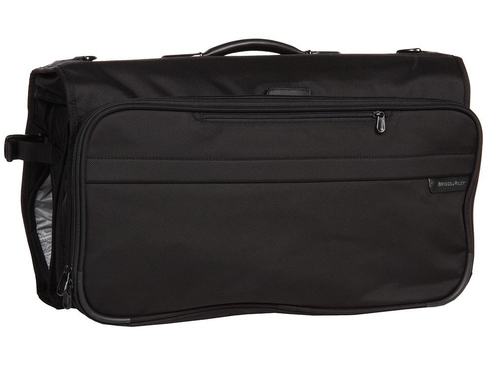 Briggs & Riley Baseline - Compact Garment Bag (Black) Sui...