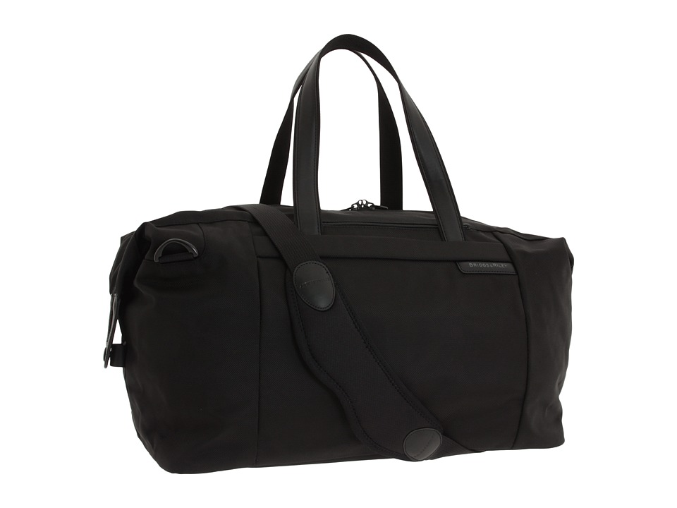 Briggs & Riley - Baseline - Large Travel Satchel (Black) Duffel Bags