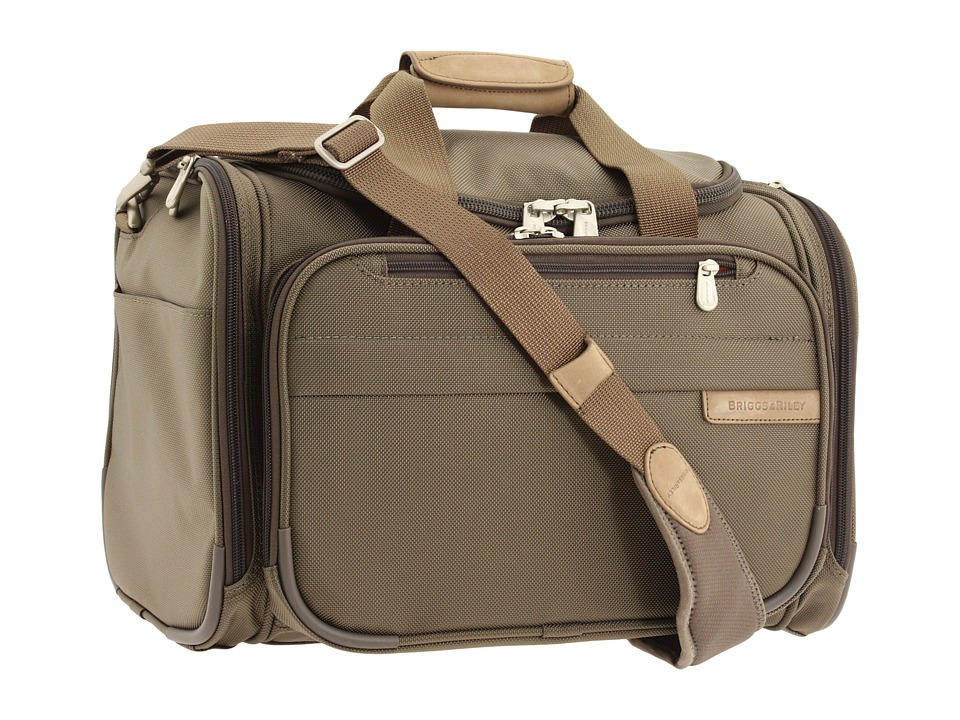 Briggs amp Riley Baseline Cabin Duffle Olive Carry on Luggage