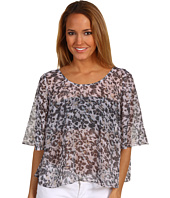 BCBGeneration - Bell Sleeve Cape Top