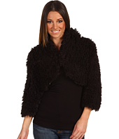 Betsey Johnson - Fluffy Fur Cropped Jacket