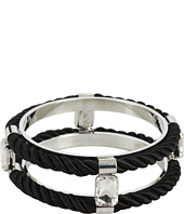 Noir Jewelry - Jaipur Cord and Crystal Bangle Bracelet