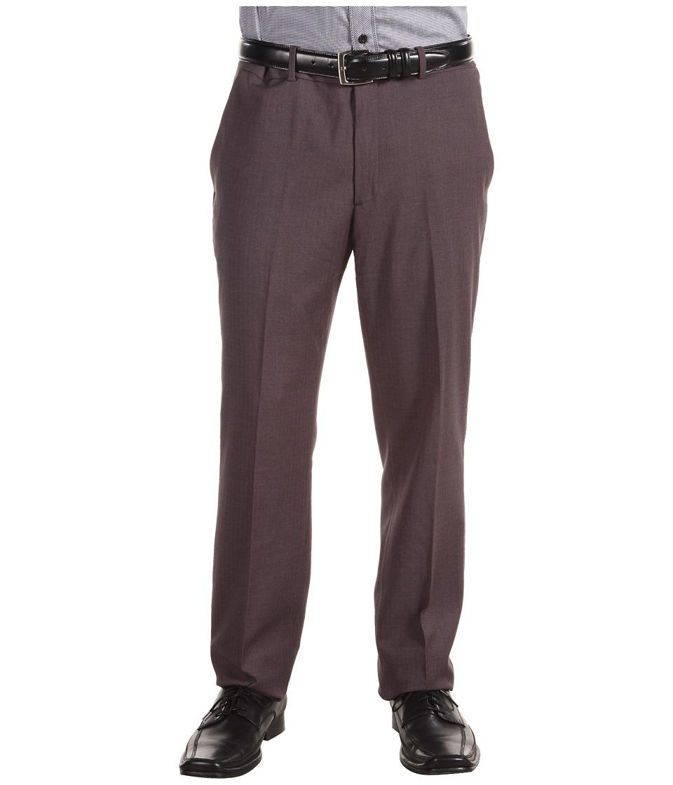Perry Ellis Portfolio - Slim Fit Solid Pant